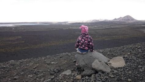 na kraterze