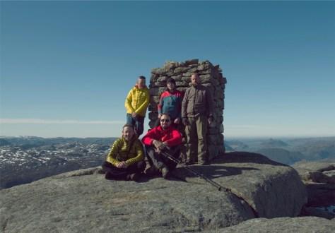 ekipa na szczycie
