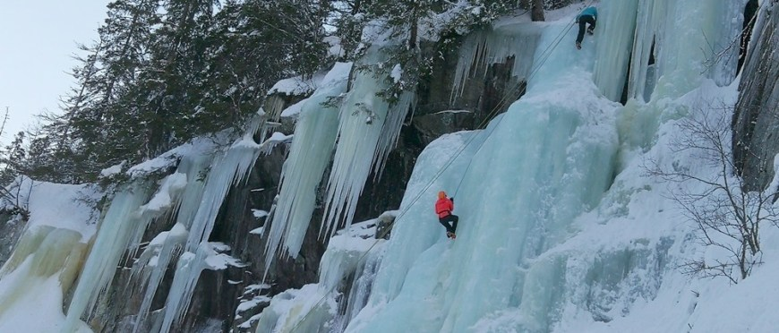 póki co wciąż się uczę, ogarniam człowieczeństwo, choć czasami najpiękniejsza prawda to szaleństwo – wspinaczka lodowa w Rjukan