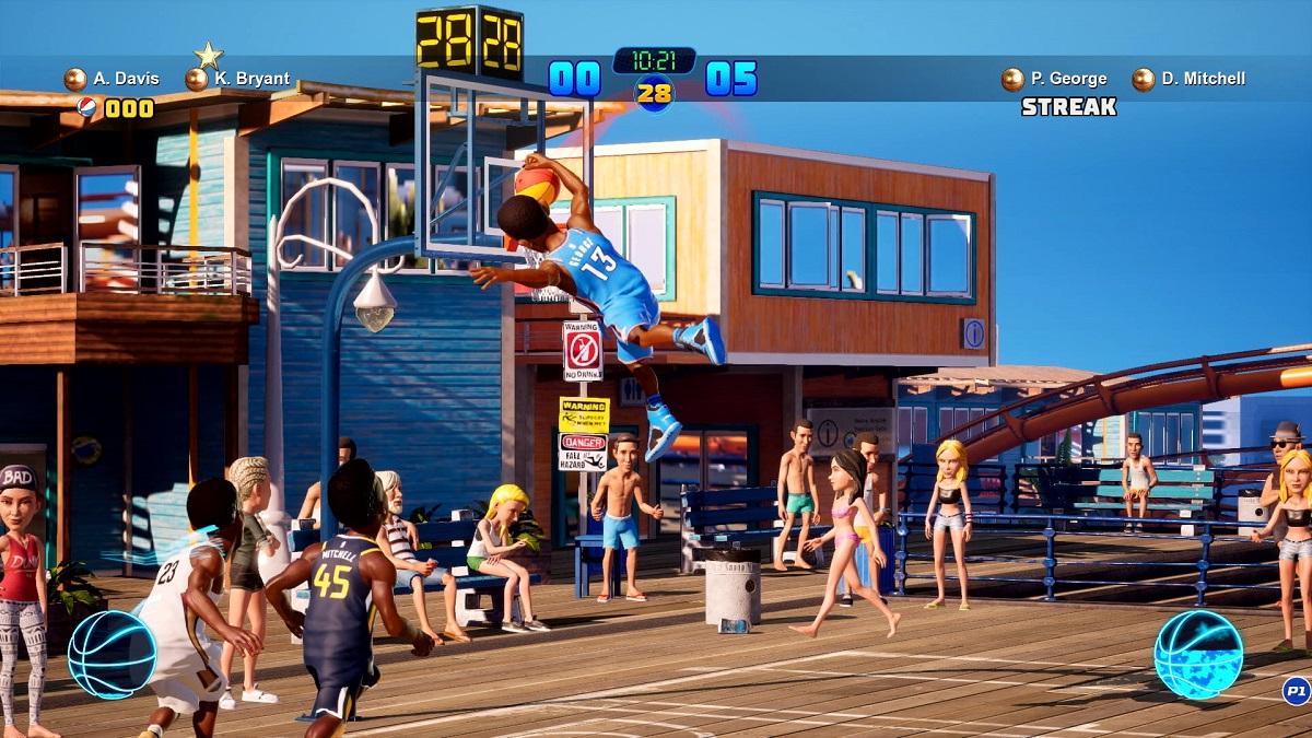 NBA 2K 熱血街球場2 讓你揮灑籃球無限可能 - JAZKO