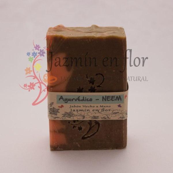 Jabón natural ayurvédico