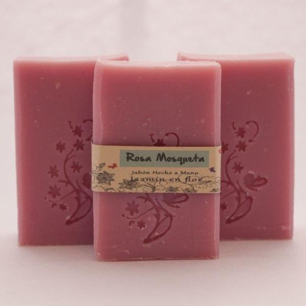 Jabón natural rosa mosqueta