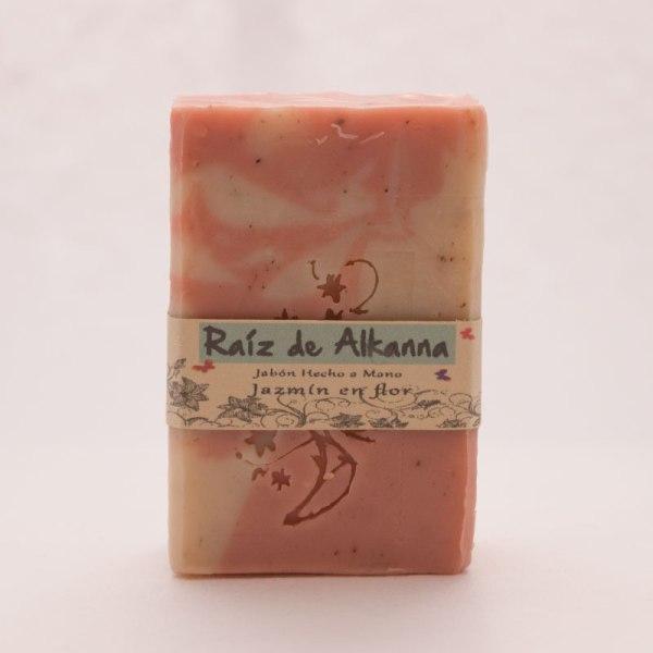 Jabón natural de raiz de alkanna o raiz del traidor
