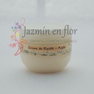 Crema natural corporal y de manos karité y argán