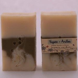 Jabón Natural Vegano con Arcillas