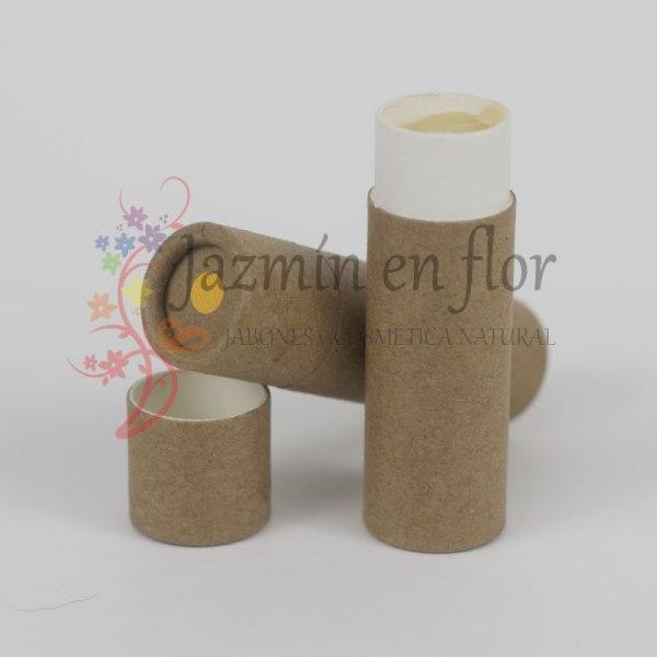 Protector Labial Naranja Jazmín en flor Stick ECO