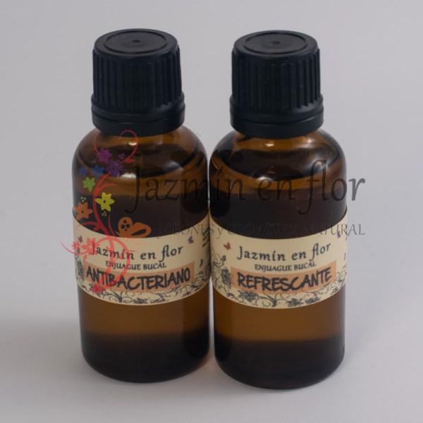 Enjuague bucal refrescante y antibacteriano Jazmín en flor