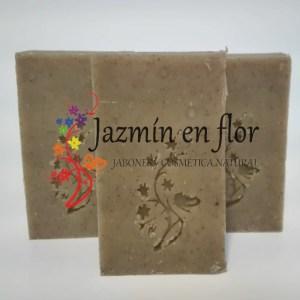 Champú sólido de Proteína de Trigo y Bringaraj Jazmín en Flor