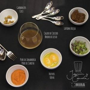 Ingredientes yema de huevo