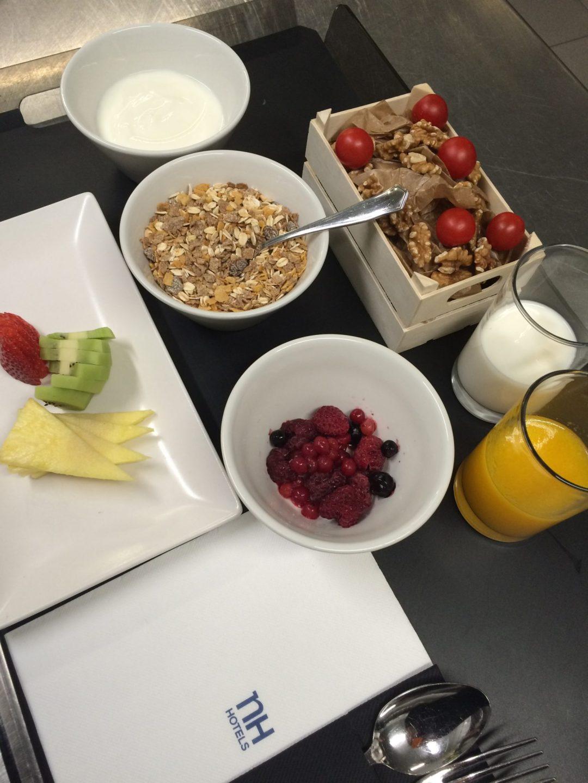 Desayuno saludable chef David Ros hotel Nh ventas