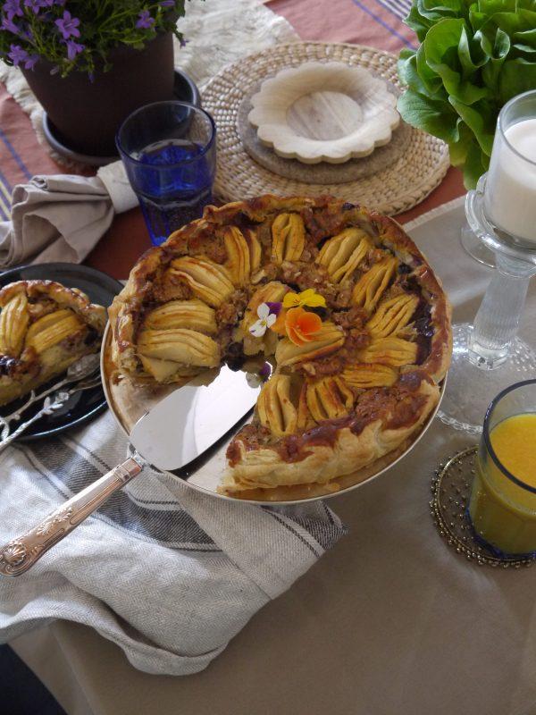 tarta de manzana fácilicima