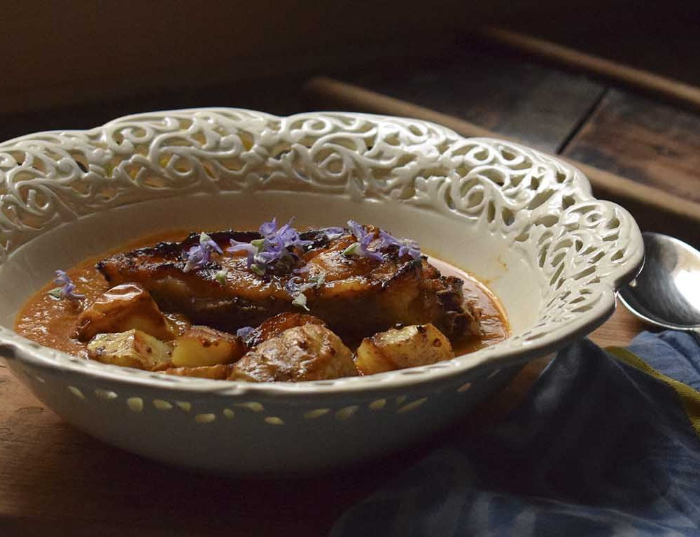 como-preparar-pollo-sobrante-al-curry-receta-aprovechamiento a base fotos jazminycanela encabezado