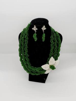 green nacklace