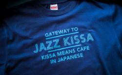 ジャズ喫茶Tシャツ