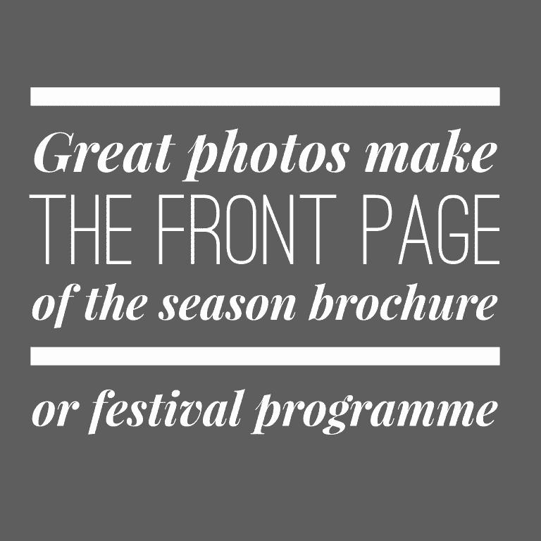 Promo photos - festival programme