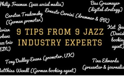 9 Tips From 9 Jazz Industry Experts