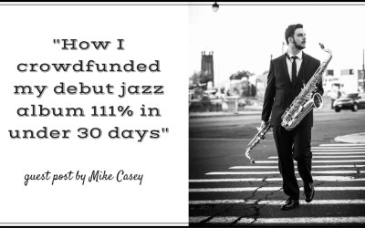 How I crowdfunded my debut jazz album 111% in under 30 days