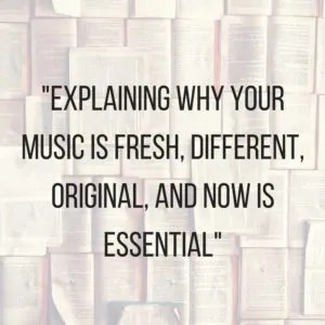 Why your music is special