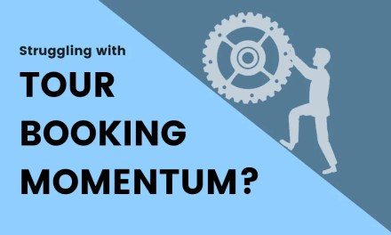 Keeping momentum with your tour booking