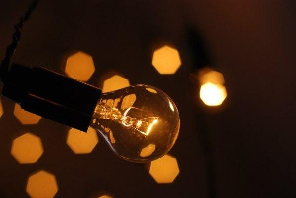 Пример декора ретрогирляндами Jazzlight c лампами накаливания