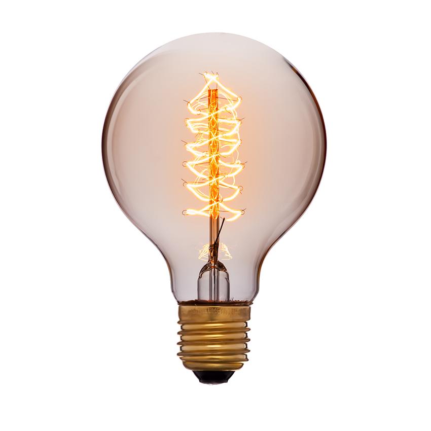 Лампа шар Эдисона 8 см
