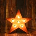 Звезда JazzLight с лампочками высотой 50 см