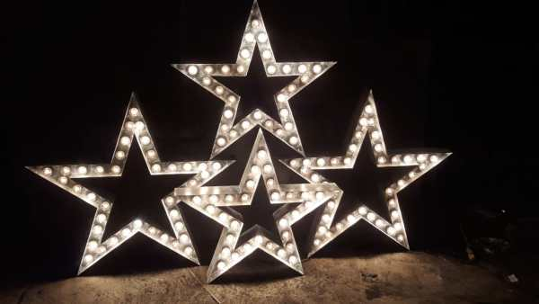 Звезда из металла Jazzlight