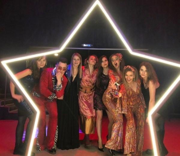 Звезда-арка с неоновой подсветкой Jazzlight