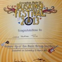 Croydon Busking Festival 2013