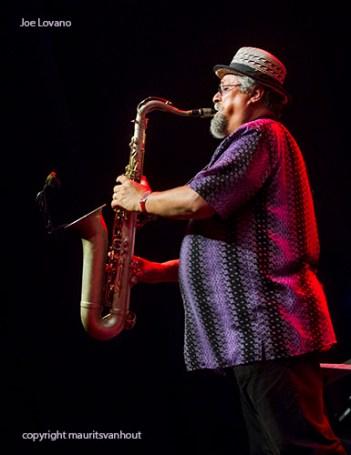 Joe Lovano en Brussels Jazz Orchestra live op Gent Jazz 2013