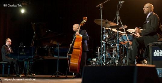 Billy Charlap Trio gefotografeerd op Jazz Middelheim 2013