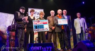 De winnaars van de Sabam awards
