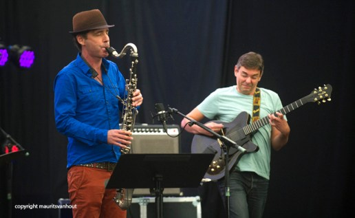 Bureau of Atomic Tourism live at Jazz Middelheim 2014