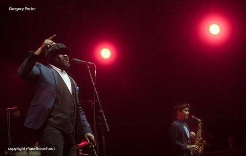 Gregory Porter live at gent jazz 2015