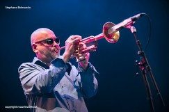 Stephane Belmondo Trio tijdens Gent Jazz 2015