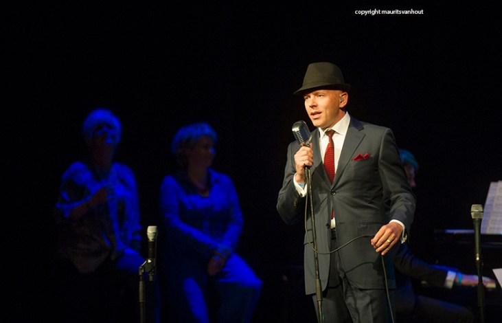 Laren Jazz 2015. Tribute to Frank Sinatra met Dutch concert Big Band, Mathilde Santing, Johanette Zomer en Frank in Person