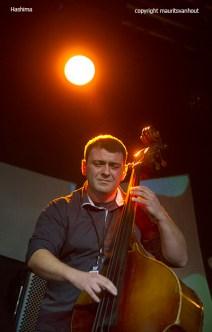 Belgrade, 29 oktober 2015. Hashima performing at the Jazz Belgrade festival 2015.