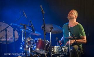 Antwerpen, 13 augustus 2016. Jazz Middelheim. Eric Thielemans treedt op samen met drummer Billy Hart. Foto: Eric Thielemans
