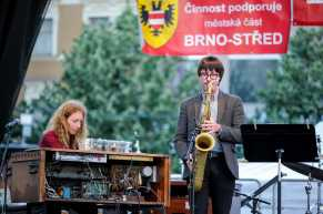 Osian Roberst – tenor saxophone, Jan Kořínek - hammond organ