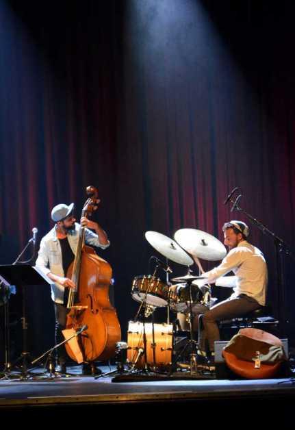 Shai Maestro Trio - Francesco Ciniglio (ds) & Petros Klampanis (bs)