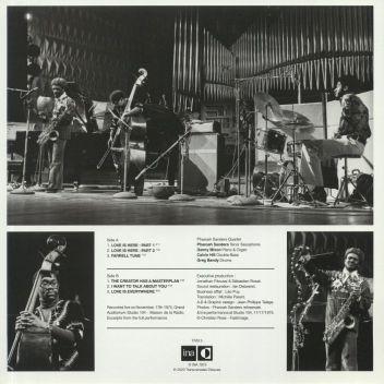 PHAROAH SANDERS - Live In Paris (1975)