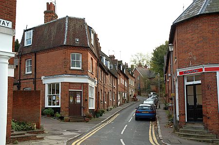 Church St., Hatfield: we lived in the organist's house...