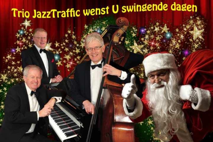 Live Kerstmuziek met JazzTraffic