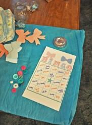 Handmade Bingo with Buttons