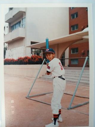 少年野球時代「松尾カープ」開南小学校