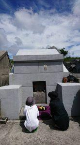 識名霊園にある城間家の墓