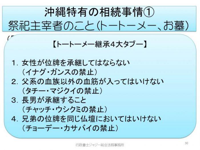 沖縄の位牌継承4大タブー