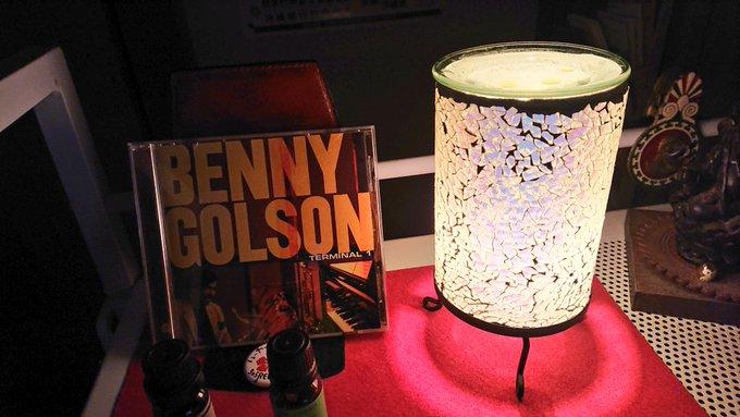 ジャズ・アルバム『BENNY GOLSON TERMINAL1』とアロマキャンドル