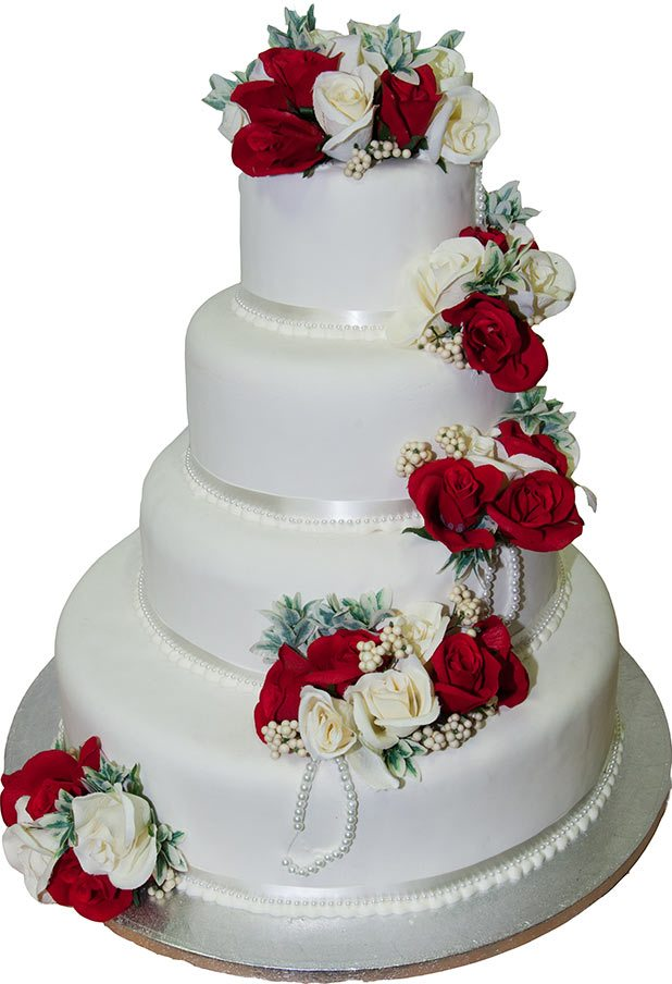 Wedding Cakes   JB Bakery     make outstanding wedding cakes is what we do best  We follow the latest  trends and styles to incorporate them into our cakes  You can also choose  from a