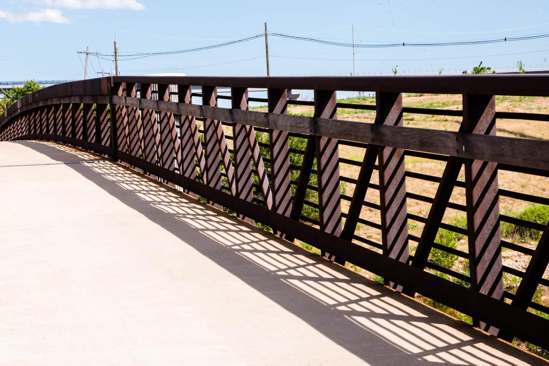 Patterns on a Bridge Rail